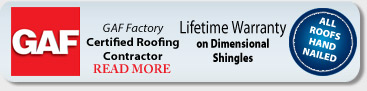 GAF-Elk Factory Certified Roofing Contractor